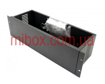 Корпус металлический Rack 3U, модель MB-3160vRCSP-W430H132L160, RAL9005(Black textured)