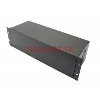 Корпус металлический Rack 3U, модель MB-3160vSP (Ш483(432) Г162 В132) черный, RAL9005(Black textured)