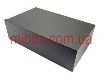 Корпус металлический Rack 3U, модель MB-3260SP (Ш483(432) Г262 В132) черный, RAL9005(Black textured)