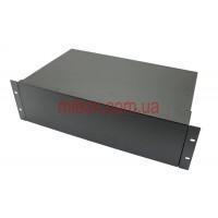 Корпус металлический Rack 3U, модель MB-3260RCSP-W430H132L260, RAL9005(Black textured)