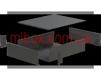 Корпус металлический Rack 3U, модель MB-3520RCSP-W430H132L520, RAL9005(Black textured)