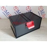 Сортовик КБ-1, черный, размер блока/ящика (ШхГхВ): 188х124х95мм/180х120х86мм