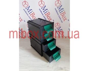 Сортовик КБ-4, черный, размер блока/ящика (ШхГхВ): 95х124х188мм/86х120х44мм