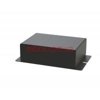Корпус металлический с креплением на стену МВ-61 (Ш90 Г65 В30)  черный, RAL9005(Black textured)