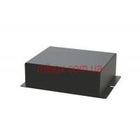 Корпус металлический с креплением на стену МВ-62 (Ш120 Г110 В40) черный, RAL9005(Black textured)
