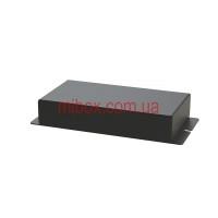 Корпус металлический с креплением на стену МВ-63 (Ш130 Г70 В25) черный, RAL9005(Black textured)