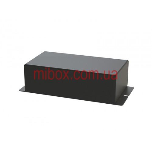 Корпус металлический с креплением на стену МВ-64 (Ш130 Г70 В40) черный, RAL9005(Black textured)