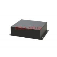 Корпус металлический с креплением на стену МВ-65 (Ш130 Г120 В40) черный, RAL9005(Black textured)