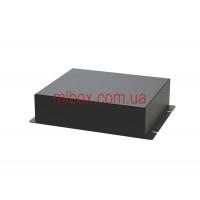Корпус металлический с креплением на стену МВ-67 (Ш150 Г130 В40) черный, RAL9005(Black textured)