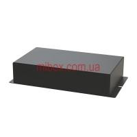 Корпус металлический с креплением на стену МВ-68 (Ш180 Г105 В40) черный, RAL9005(Black textured)
