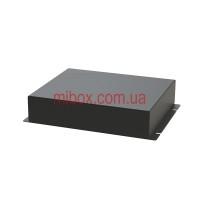 Корпус металлический с креплением на стену МВ-69 (Ш180 Г150 В40) черный, RAL9005(Black textured)
